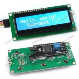 16x2 Serial LCD Module...