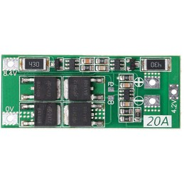 2S 20A BMS Charger 18650...