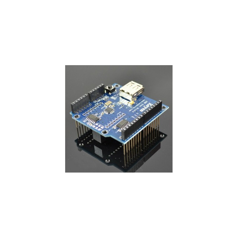USB Host Shield For Arduino UNO, MEGA, Compatible with Google Android ADK