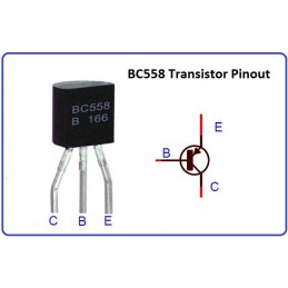 BC558 Transistor(PACK OF 5)