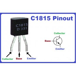 C1815 Transistor(PACK OF 3)