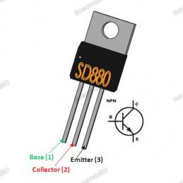 D880 NPN Transistor
