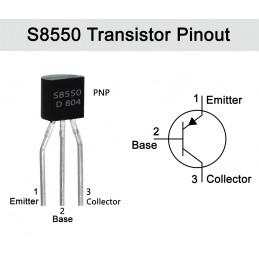 S8550 Transistor(PACK OF 3)