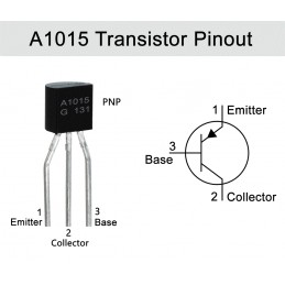 A1015 Transistor(PACK OF 5)
