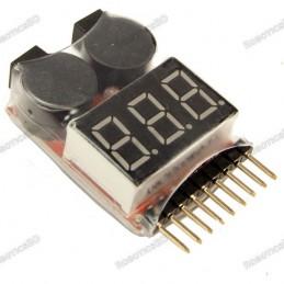 1-8S Lipo Battery Voltage...