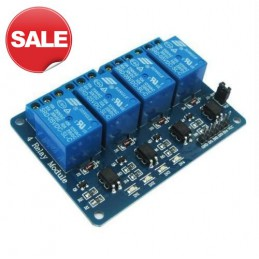 4 Channel 12V Relay Board...