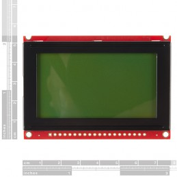 Graphic LCD 128x64 STN LED...