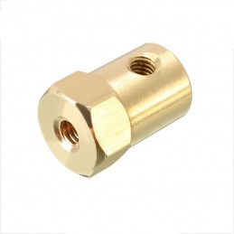 25 GA 6mm Hex coupling for...