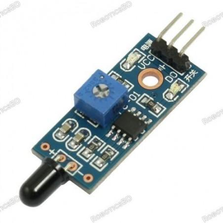 Flame Sensor fire detection module for Arduino
