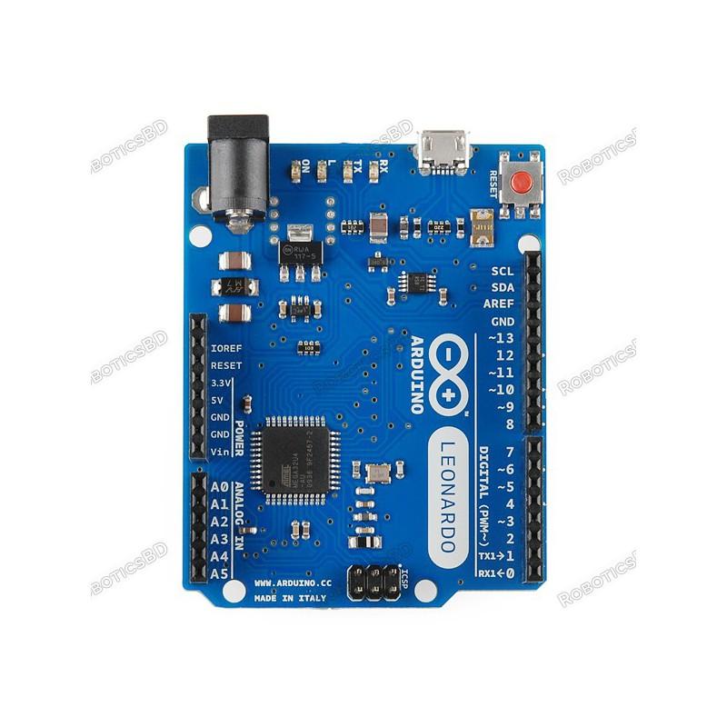 Arduino Leonardo with Headers (Made in China)