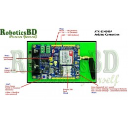 ATK-SIM900A GSM /GPRS Module