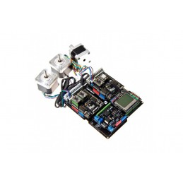 Dual Bipolar Stepper Motor Shield for Arduino (A4988) With Xbee Communication Socket