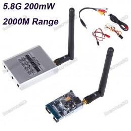 Boscam FPV 5.8Ghz 200mw 8 Channel AV Trx Rx