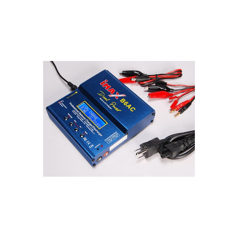 IMAX B6-AC Charger/Discharger 1-6 Cells Dual Power 80W (GENUINE)