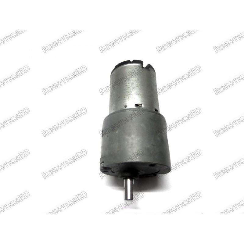 High Torque Gear Motor 12V, 50 RPM