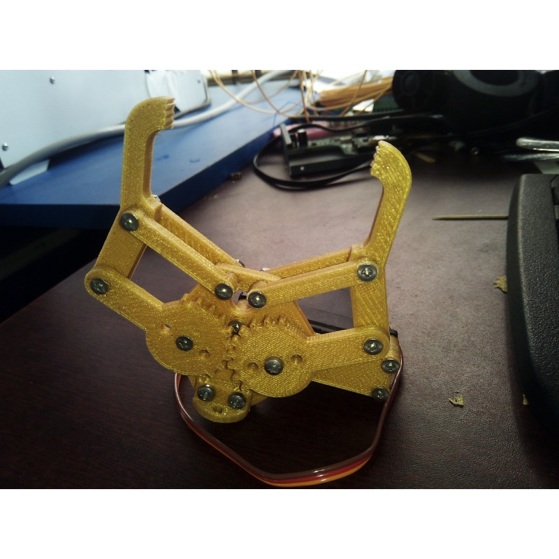 3D Prnted Robotics claw with servo motor