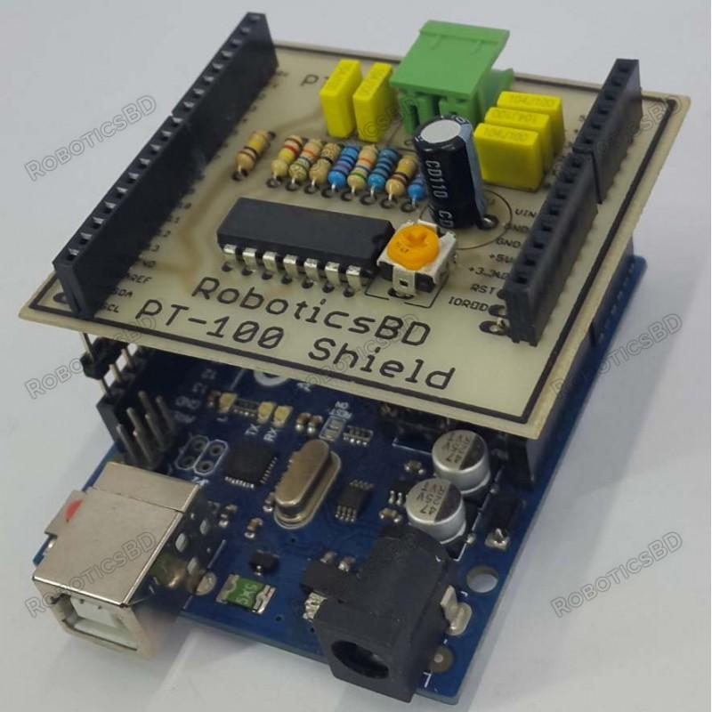 Arduino PT-100 Shield