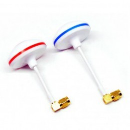 5.8GHz Circular Polarized Mushroom Antenna RP-SMA Set Tx/Rx for FPV Multicopter