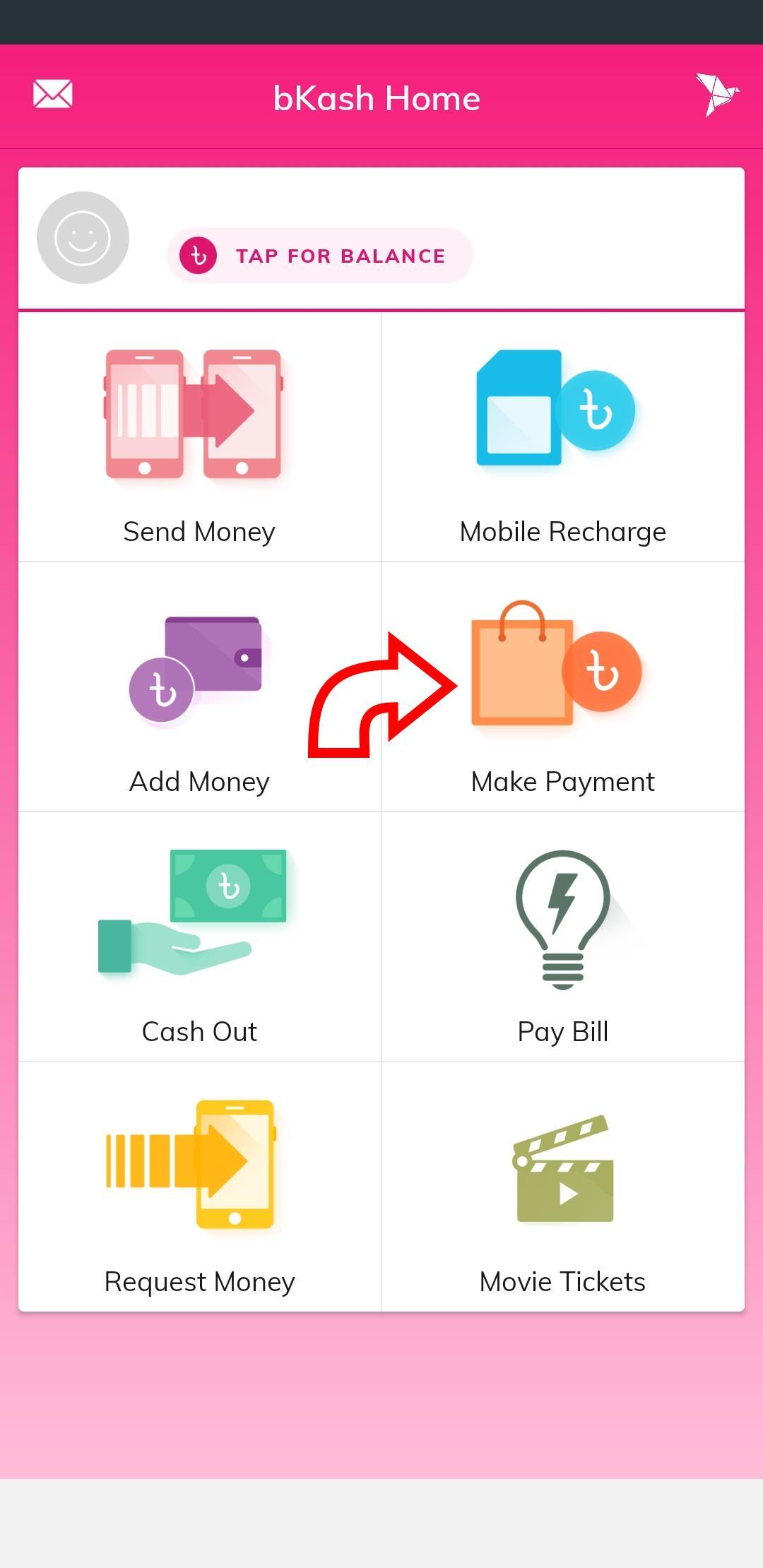 bkash Payment Method