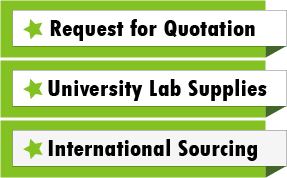 Request for Quotation/ International Sourcing